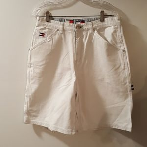 Vintage Tommy High Waisted Bermuda Cargo Shorts
